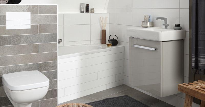 Compacte badkamer - Bijvoorbeeld vlak badkamer ...